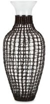 Home Essentials Caged Glass Vase