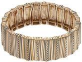 Dana Buchman Textured Bar Stretch Bracelet