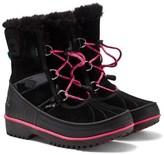 Sorel Black with Pink Trim Tivoli II Boots