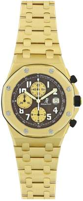 Audemars Piguet Royal Oak Offshore Black Yellow gold Watches