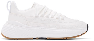 Bottega Veneta White Lace Speedster Sneakers