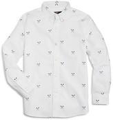 Vineyard Vines Boys' Lacrosse Print Oxford Shirt - Big Kid