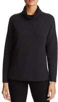 Eileen Fisher Drape Neck Cashmere Sweater