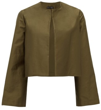 Carl Kapp - Camille Cotton-sateen Jacket - Khaki