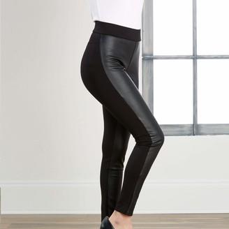 Mud Pie Women's Leather Leggings