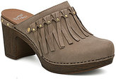 Dansko Deni Fringed Clogs