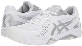 Asics Gel-Challenger 12 (White/Silver) Men's Tennis Shoes