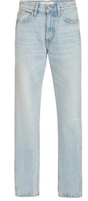 SLVRLAKE Virginia High-Rise Straight-Leg Jeans