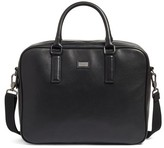 Ted Baker Leather Document Bag - Black