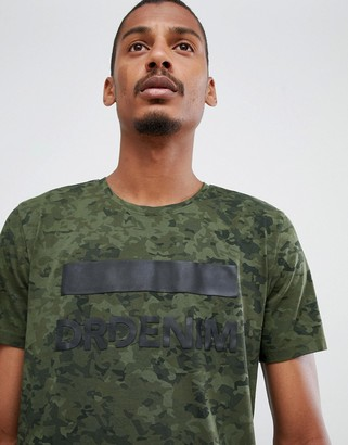 Dr. Denim Patrick t-shirt in green with logo