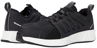 Reebok Work Fusion Flexweavetm Work - RB413 Composite Toe (Black/White) Women's Shoes