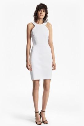 French Connection Modern Kantha Crepe Halter Neck Dress