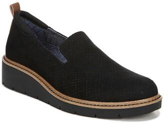 Dr. Scholl's Sidekick Perforated Platform Slip-On Loafer