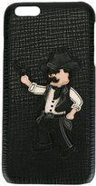 Dolce & Gabbana Cowboy patch iPhone 6 Plus case - men - Leather - One Size