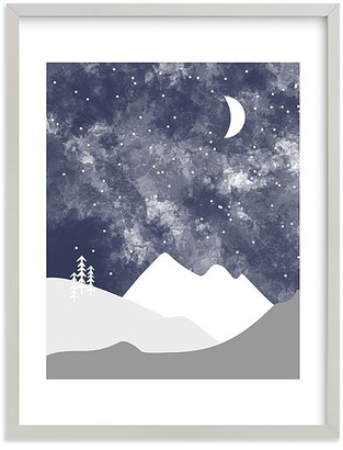 Pottery Barn Kids Minted Into the Nighttime Sky Wall Art by Kristen McEvenue