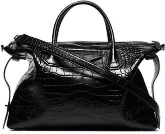 Givenchy Antigona crocodile-effect tote bag