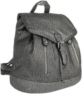 Pewter Zip-Pocket Backpack