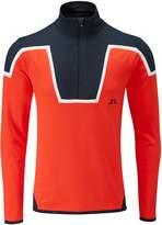 J. Lindeberg Men's Kimball Blocked T Neck Sweater
