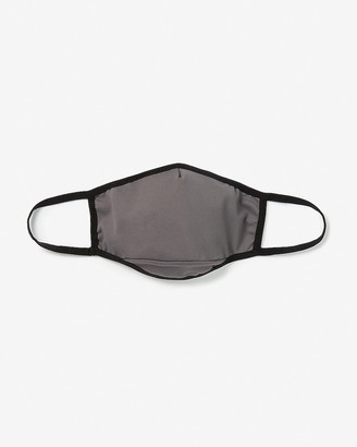 Express Solid Border Face Mask