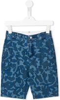 Stella McCartney camouflage print Lucas shorts - kids - Cotton - 2 yrs