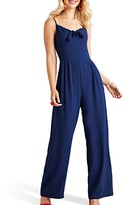 Yumi Tie Knot Sleeveless Jumpsuit