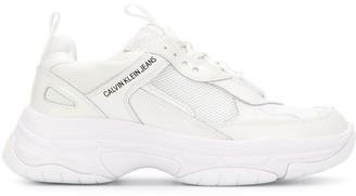 Calvin Klein Jeans Paneled Oversized Sneakers