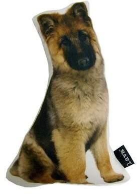 Lava German Shepherd Puppy Shaped Indoor/Outdoor Throw Pillow