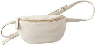 Cathy's Concepts Monogram Vegan Leather Belt Bag