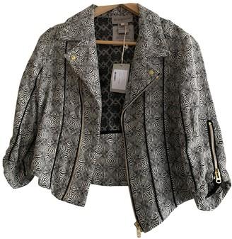 Heimstone Grey Cotton Jacket for Women