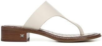 Sam Edelman Jaynee Leather Toe-Thong Sandals
