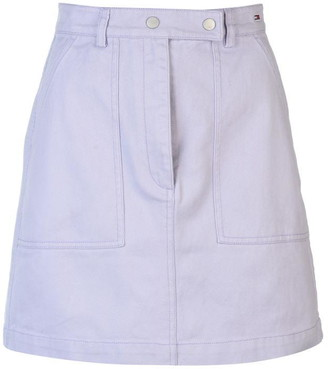 Tommy Jeans Tommy Denim Mini Skirt Ladies
