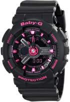 Casio Women's Baby-G BA111-1A Plastic Quartz Watch