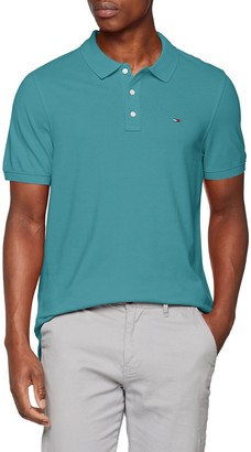 Tommy Hilfiger Men's Polo Shirt Original Flag with Short Sleeves
