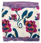 Muk Luks Women's Textured Funnal Scarf - Vanilla