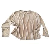 Max Mara Khaki Silk Top