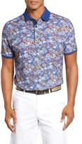 Paul & Shark Men's Floral Print Polo