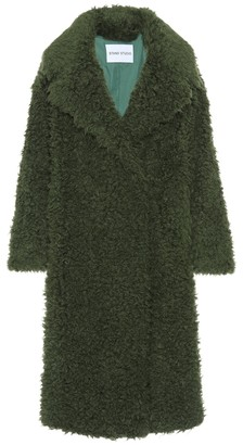 Stand Studio Nicoletta faux-fur teddy coat