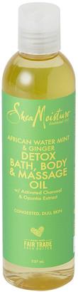 Shea Moisture African Water Mint & Ginger Detox Bath; Body & Massage Oil