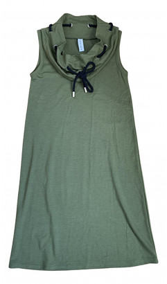 Carven Khaki Cotton - elasthane Dresses