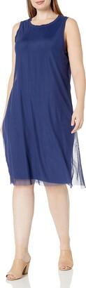Wilson Rebel X Angels Women's Plus Size Mesh Overlay Dress