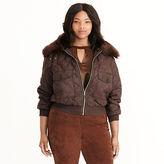 Ralph Lauren Woman Quilted Bomber Jacket