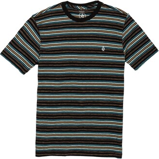Volcom Moorley Stripe Cotton T-Shirt