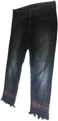 Notify Jeans Blue Cotton Jeans for Women