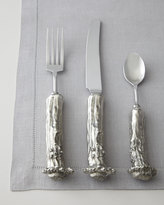 "Horchow Vagabond House 5-Piece ""Stag"" Pewter Flatware Place Setting"