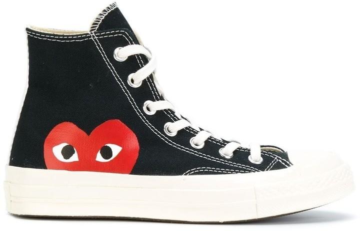 COMME DES GARÇONS PLAY X CONVERSE x Comme Des Garcons Chuck 70 Hi sneakers