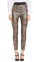 Dolce & Gabbana Women's Metallic Jacquard Leggings