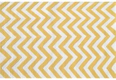 The Well Appointed House Childs Chevron Hook Rug in Yellow