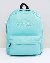 Vans Realm Backpack In Pool Blue
