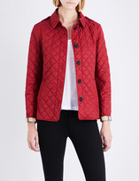 Burberry Ashurst diamond-quilted shell jacket