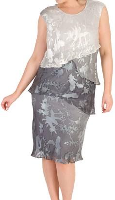 Chesca Devoree Dress, Grey